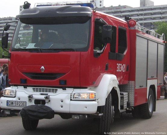 KMPSP Ruda Śląska: Strażacy usuwają skutki wichur